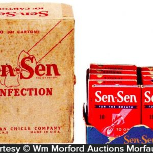 Sen-Sen Confection Display Box