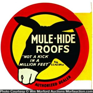 Mule-Hide Roofs Sign