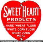 Sweet Heart Flour Door Push