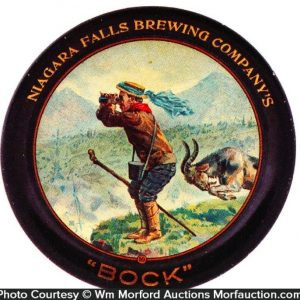 Niagara Falls Brewing Co. Bock Tip Tray