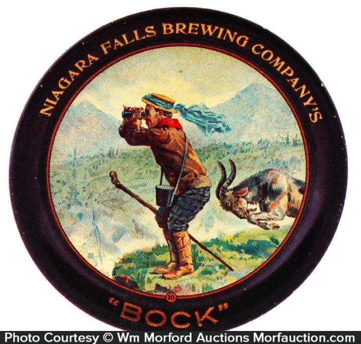 Niagara Falls Brewing Co. Bock Tip Tray