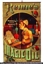 Renne's Magic Oil Sign