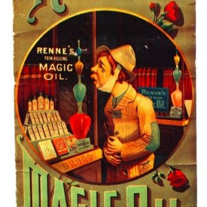 Renne's Magic Oil Sign