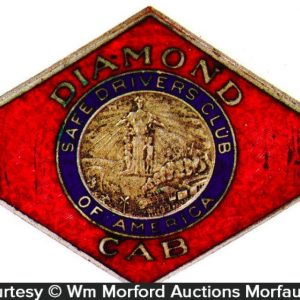 Diamond Car Taxi Badge