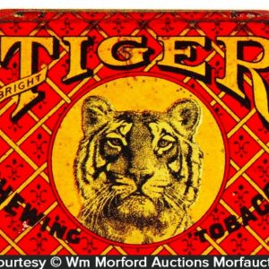 Tiger Flat Tobacco Tin
