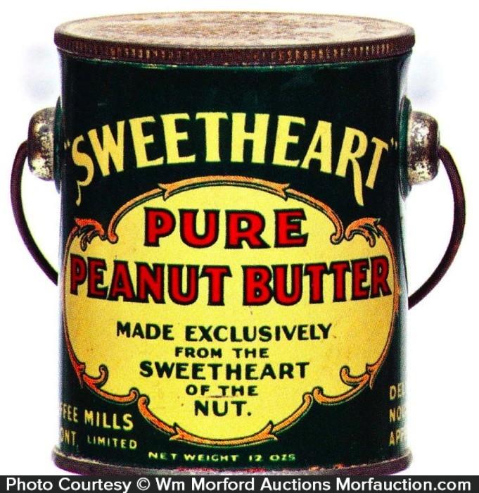 Sweetheart Peanut Butter Pail