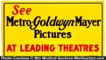 Mgm Pictures Sign