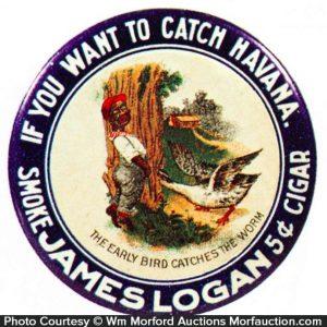 James Logan Cigars Mirror