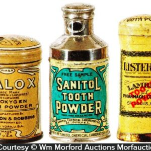 Vintage Tooth Powder Sample Tin