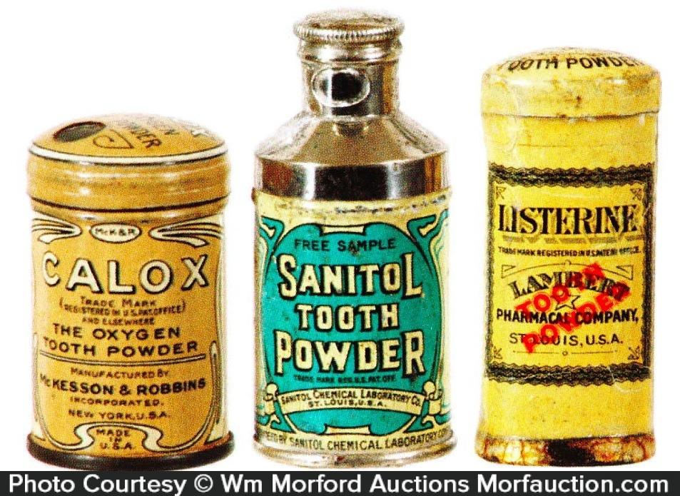 Vintage Tooth Powder Sample Tin
