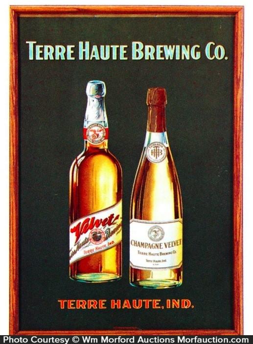 Terre Haute Brewing Sign