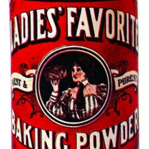 Ladies' Favorite Baking Powder Tin