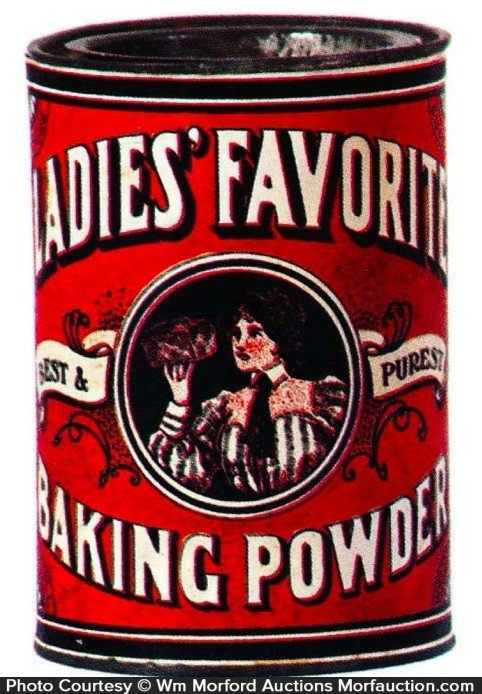 Ladies' Favorite Baking Powder Tin