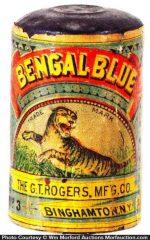 Bengal Bluing Tin