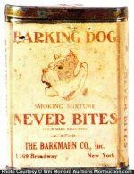 Barking Dog Tobacco Tin