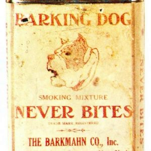 Barking Dog Tobacco Tin