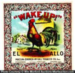 Wake-Up Tobacco Label