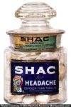 Shac Headache Tablets Jar