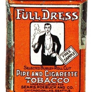 Full Dress Tobacco Tin Sample