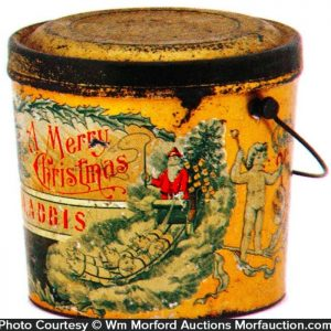 Merry Christmas Pail
