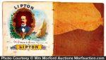 Lipton Cigar Labels Proof Book