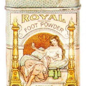 Royal Foot Powder Tin