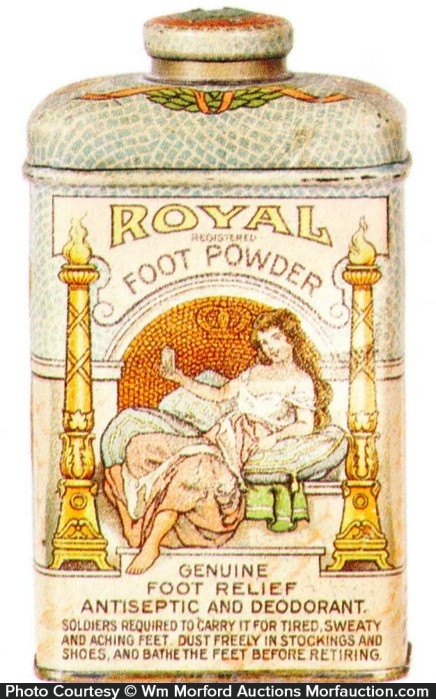 Royal Foot Powder Tin