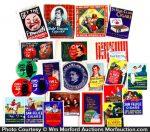 Vintage Poster Stamp Lot