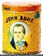 John Ashe Cigar Can