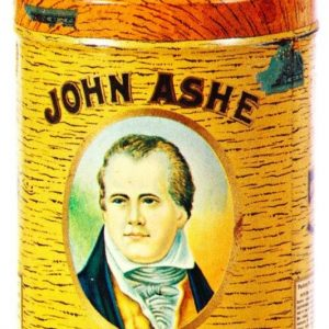 John Ashe Cigar Can