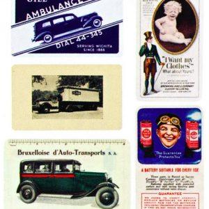 Vintage Pocket Calendars