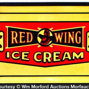 Red Wing Ice Cream Tray
