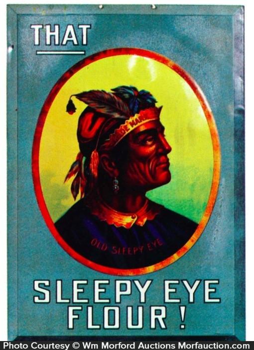 Sleepy Eye Flour Sign