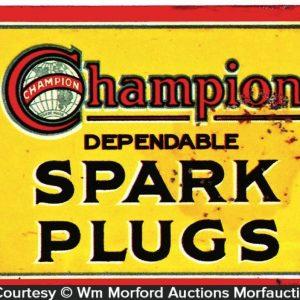 Champion Spark Plugs Door Push