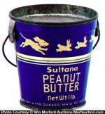 Sultana Peanut Butter Pail