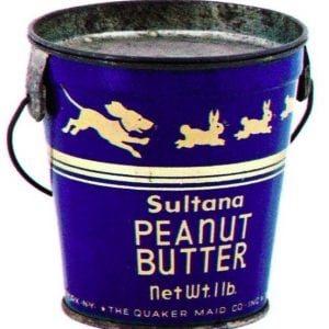 Sultana Peanut Butter Pail