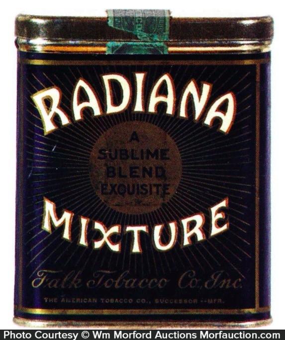 Radiana Mixture Tobacco Tin