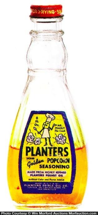 Planters Popcorn Oil