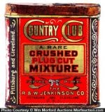 Country Club Tobacco Tin