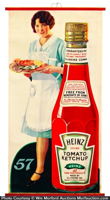 Heinz Ketchup Sign