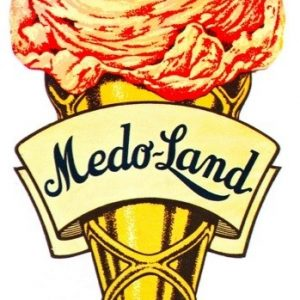 Medo-Land Ice Cream Sign