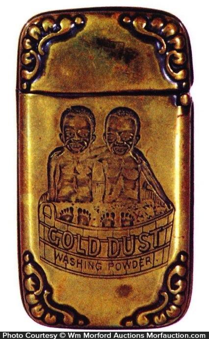 Gold Dust Match Safe