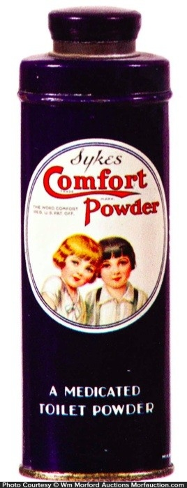 Sykes Comfort Powder Tin