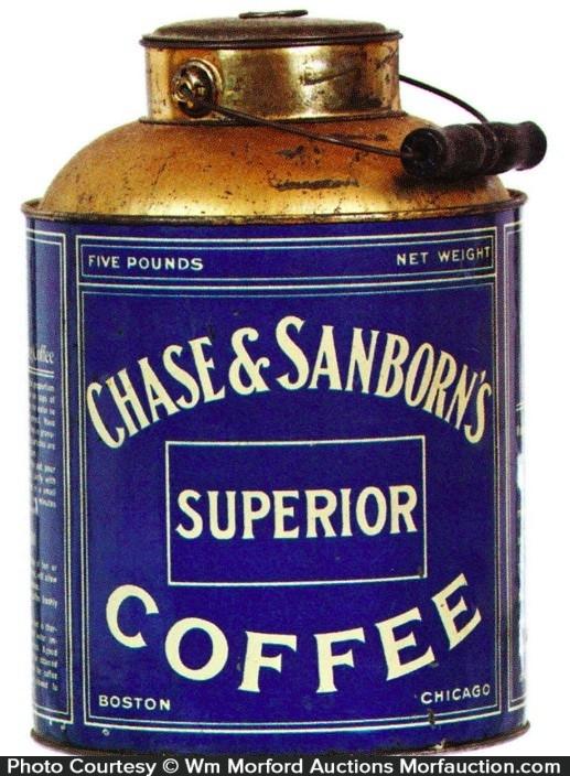 Chase & Sanborn Coffee Pail