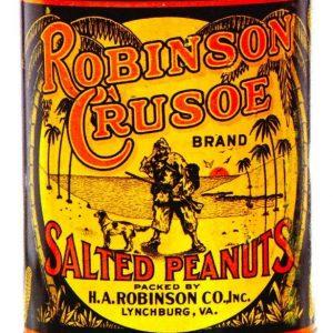 Robinson Caruso Peanuts Tin