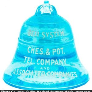 Bell Telephone Paperweight