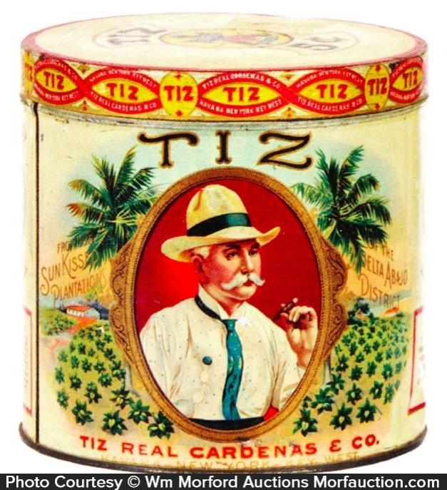 Tiz Cigar Can