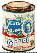 Vesta Coffee Can