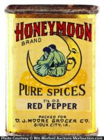 Honey Moon Spice Tin
