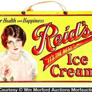 Reid's Ice Cream Sign